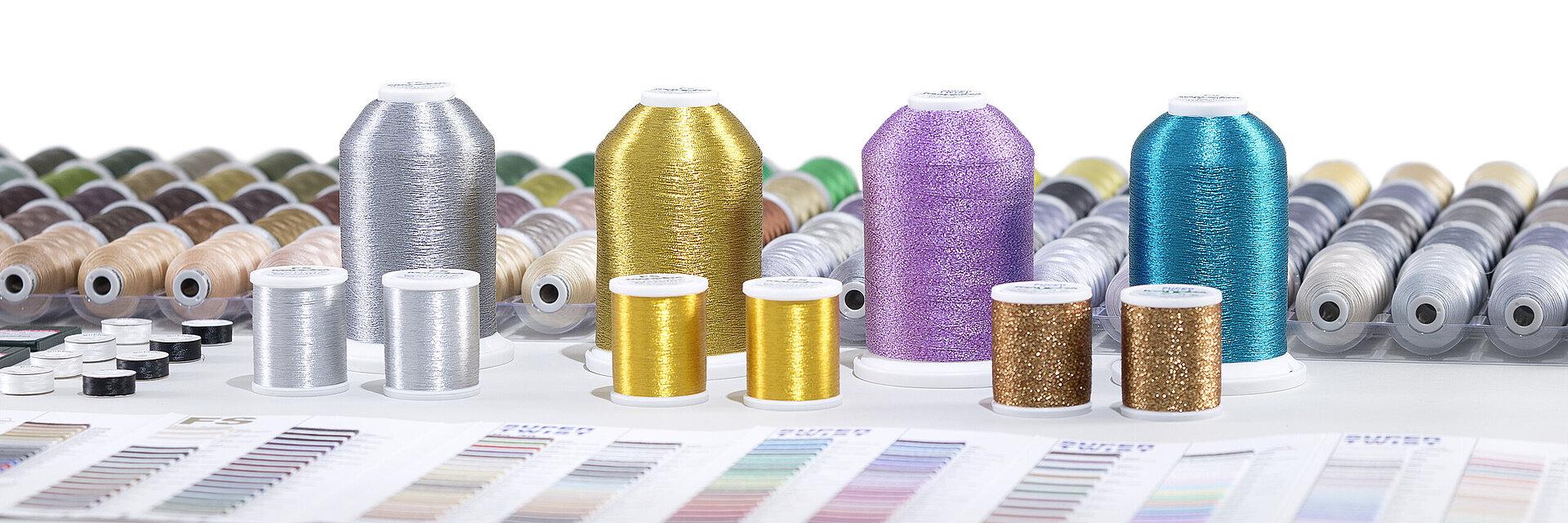 Madeira Metallic Thread FS40 200m Gold 7